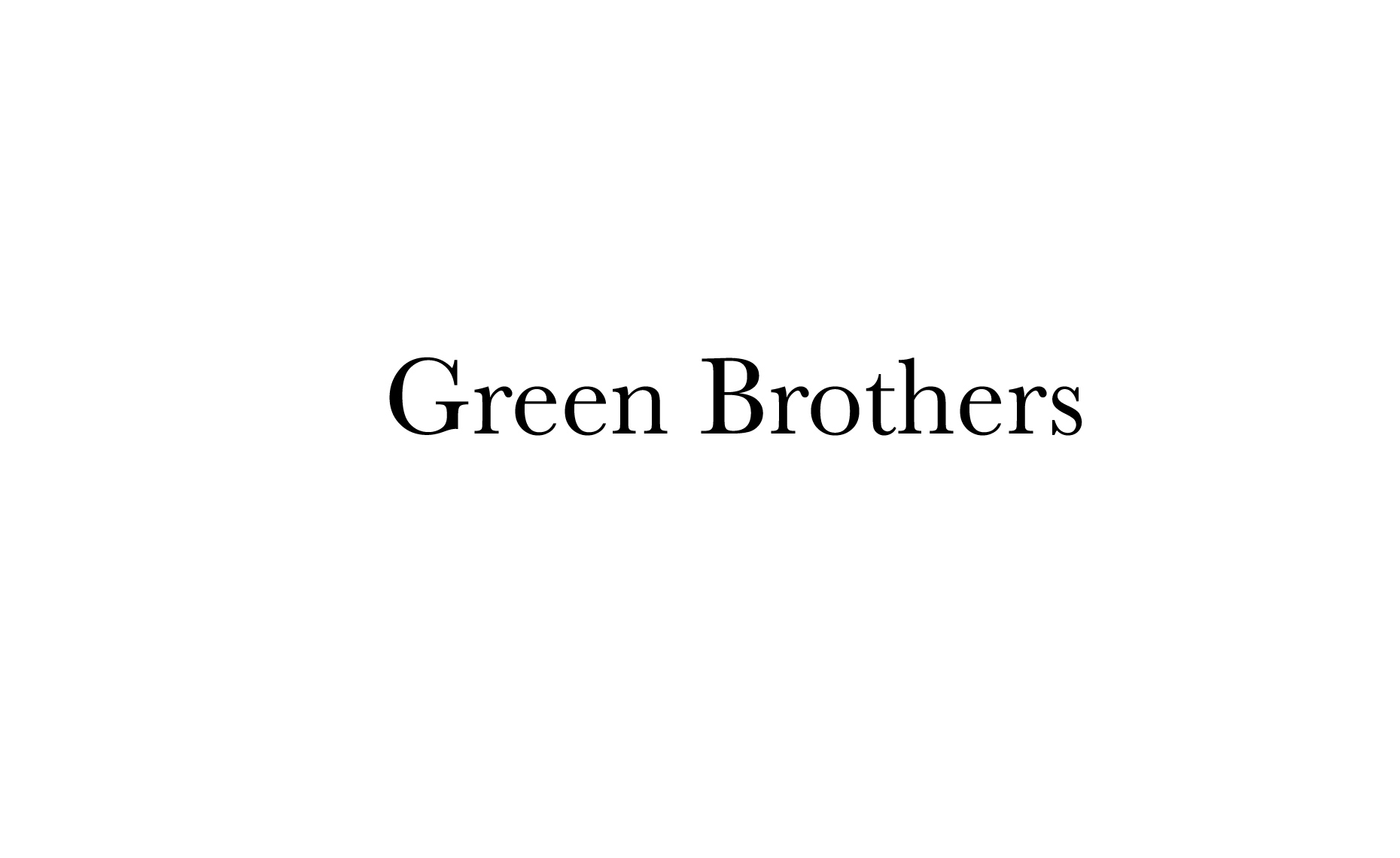 GreenBrothers