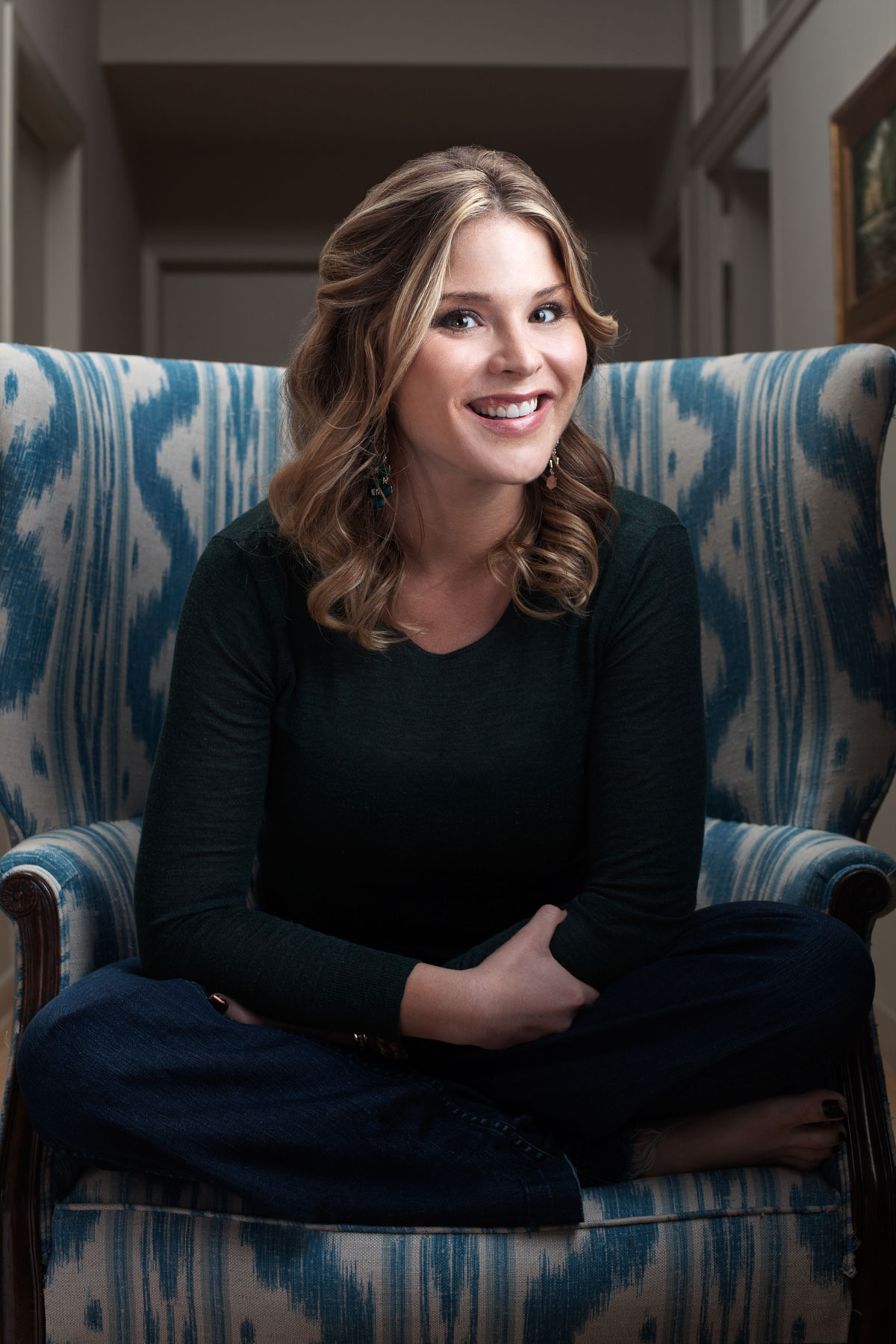 Jenna Bush- Allison Michael Orenstein